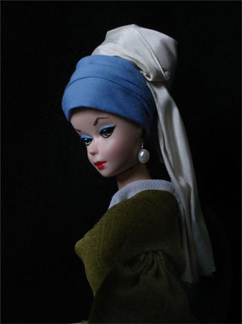 Barbie in Vermeer