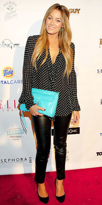 lauren conrad blue bag premier