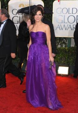 Sandra Bullock in Bottega Veneta