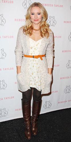 Kristen Bell seasonless layers