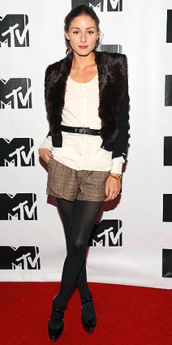 Olivia Palermo dressy shorts
