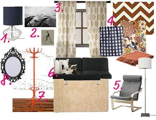 Dorm Files Design Board