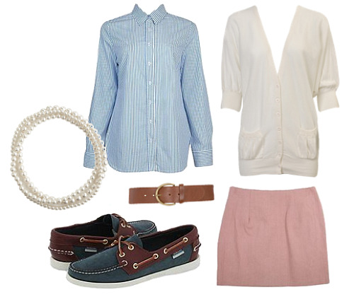 perfectly preppy outfit