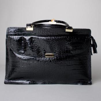 croc bag bleubird vintage