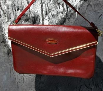 vintage red bag PunchDrunkVintage