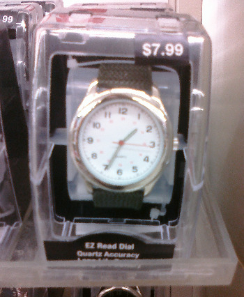 kmart military watch