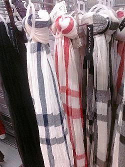 Plaid Scarves Close-up Walmart