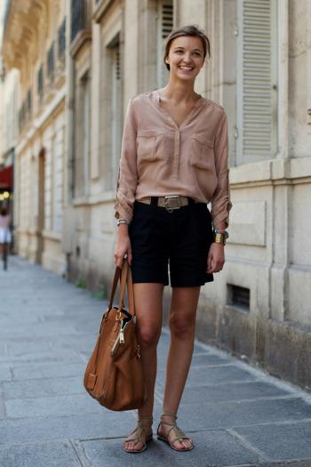 cream blouse silk