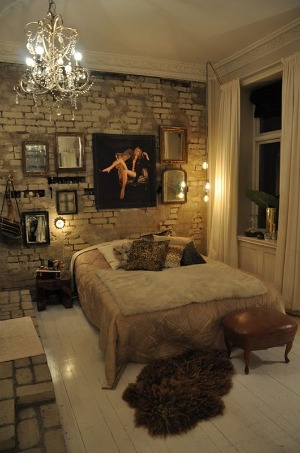 glamour and vintage bedroom thedecorista