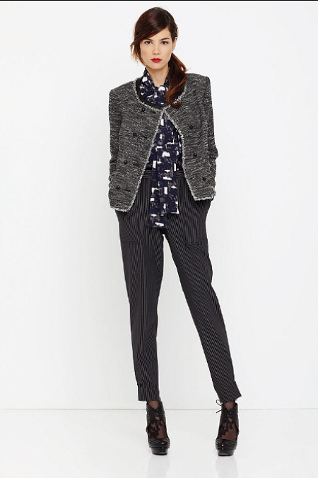 dkny resort 2011 lady jacket