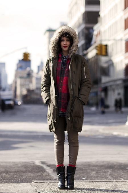 emily aussies first winter thesartorialist