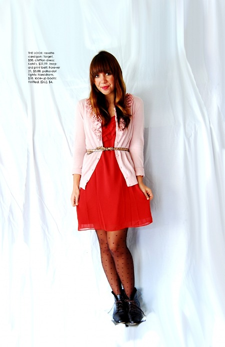 pink and red casual dress keepcollected