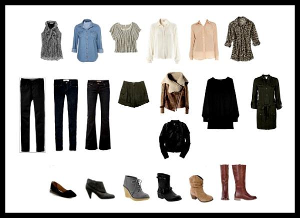 Fall 2011 wardrobe